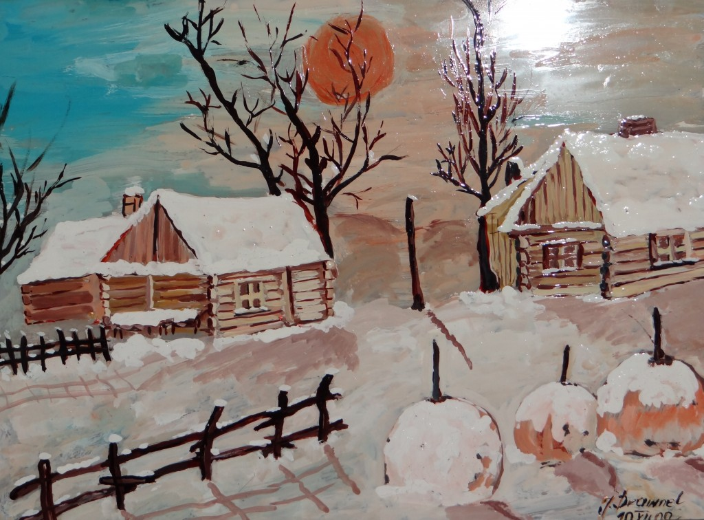 """Wystawa Jolanty Drawnel """"Na szkle malowane"""""""