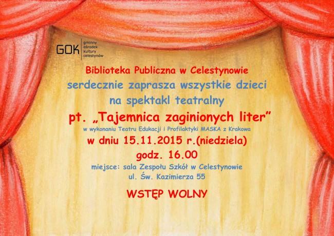 plakat teatrzyk biblioteka1