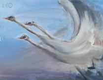 Wernisaż wystawy malarstwa Elżbiety Moczerko