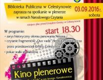 Narodowe Czytanie – kino plenerowe
