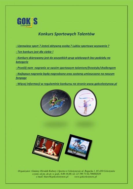 plakat-konkurs-sportowych-talentów