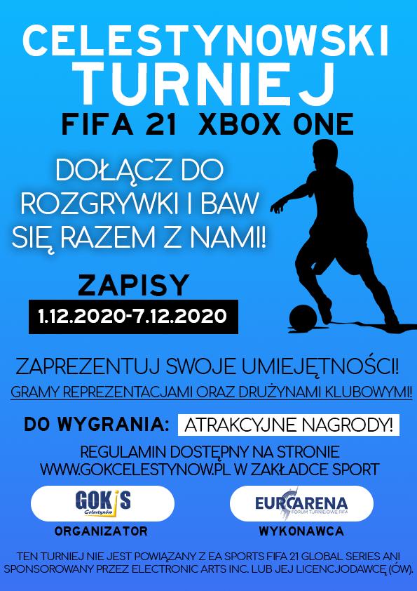 Celestynowski Turniej FIFA 21 XBOX ONE