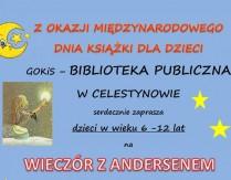 Wieczór z Andersenem z okazji Międzynarodowego Dnia Książki dla dzieci