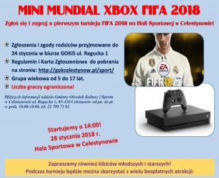 Mini Mundial XBOX FIFA 2018