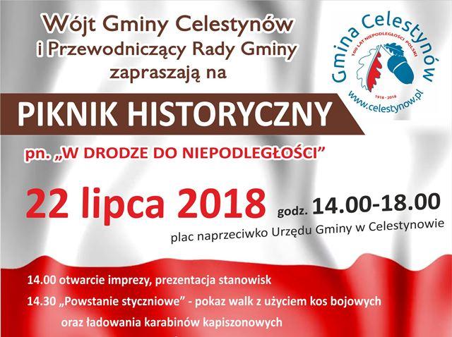 """Piknik Historyczny pn. """"W drodze do Niepodległości"""""""