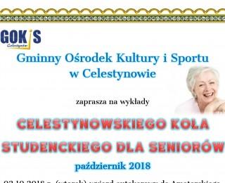 Spotkania Celestynowskiego Koła Studenckiego dla Seniorów