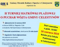II Turniej Siatkówki Plażowej o puchar Wójta Gminy Celestynów