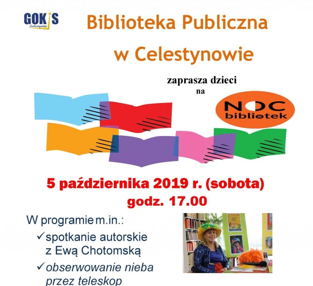 """Spotkanie autorskie dla dzieci w ramach """"Nocy Bibliotek"""""""