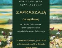 """Wystawa pn. """"Skarby Celestynowa"""""""