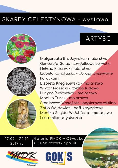 Skarby Celestynowa - plakat