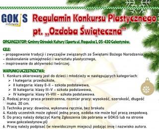 Konkurs plastyczny dla dzieci i młodzieży pt.