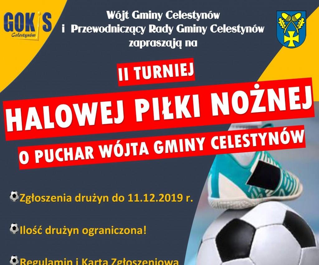 II Turniej Halowej Piłki Nożnej o Puchar Wójta Gminy Celestynów