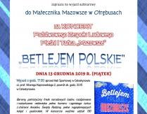 """Wyjazd autokarowy do Otrębusów na koncert """"Betlejem Polskie"""""""