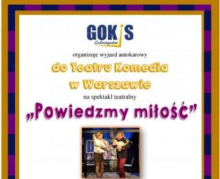 Wyjazd autokarowy do Teatru Komedia w Warszawie na spektakl