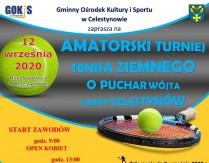 Amatorski Turniej Tenisa Ziemnego o Puchar Wójta Gminy Celestynów