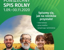 Powszechny Spis Rolny 1.09. – 30.11.2020