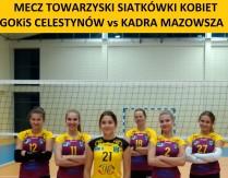 Mecz siatkówki kobiet GOKiS Celestynów vs Kadra Mazowsza