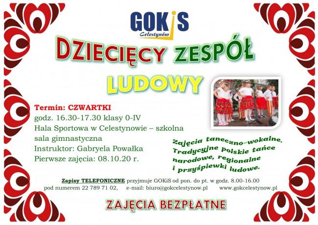 plakat zespół ludowy-1
