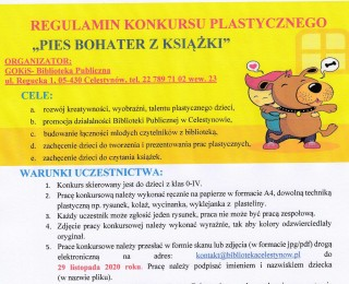 Konkurs plastyczny dla dzieci z klas 0-IV pt.