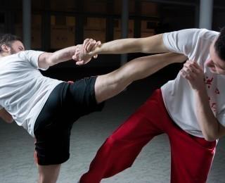 Wirtualny trening kick-boxing z instruktorem GOKiS