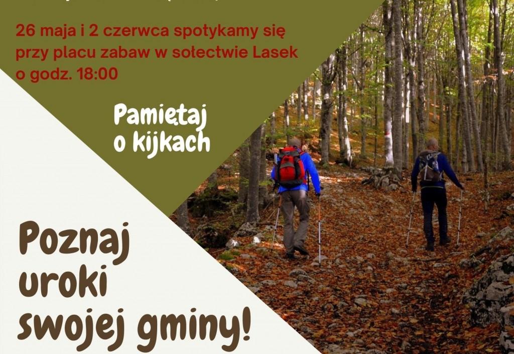 Marsz po zdrowie – bezpłatne zajęcia Nordic Walking z instruktorem GOKiS
