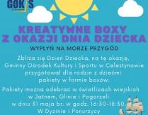 Kreatywne boxy z okazji Dnia Dziecka w świetlicach wiejskich