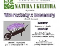 LGD Natura i Kultura zaprasza na bezpłatne warsztaty lawendowe