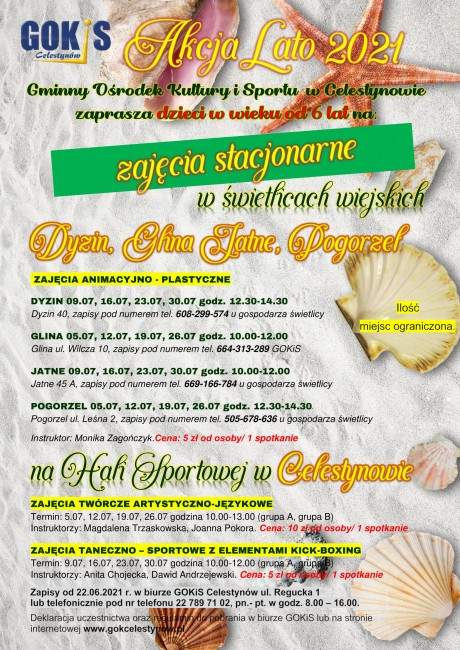 plakat Akcja Lato stacjonarne