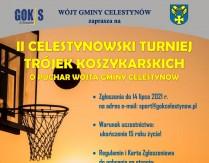 II Celestynowski Turniej Trójek Koszykarskich o Puchar Wójta Gminy Celestynów