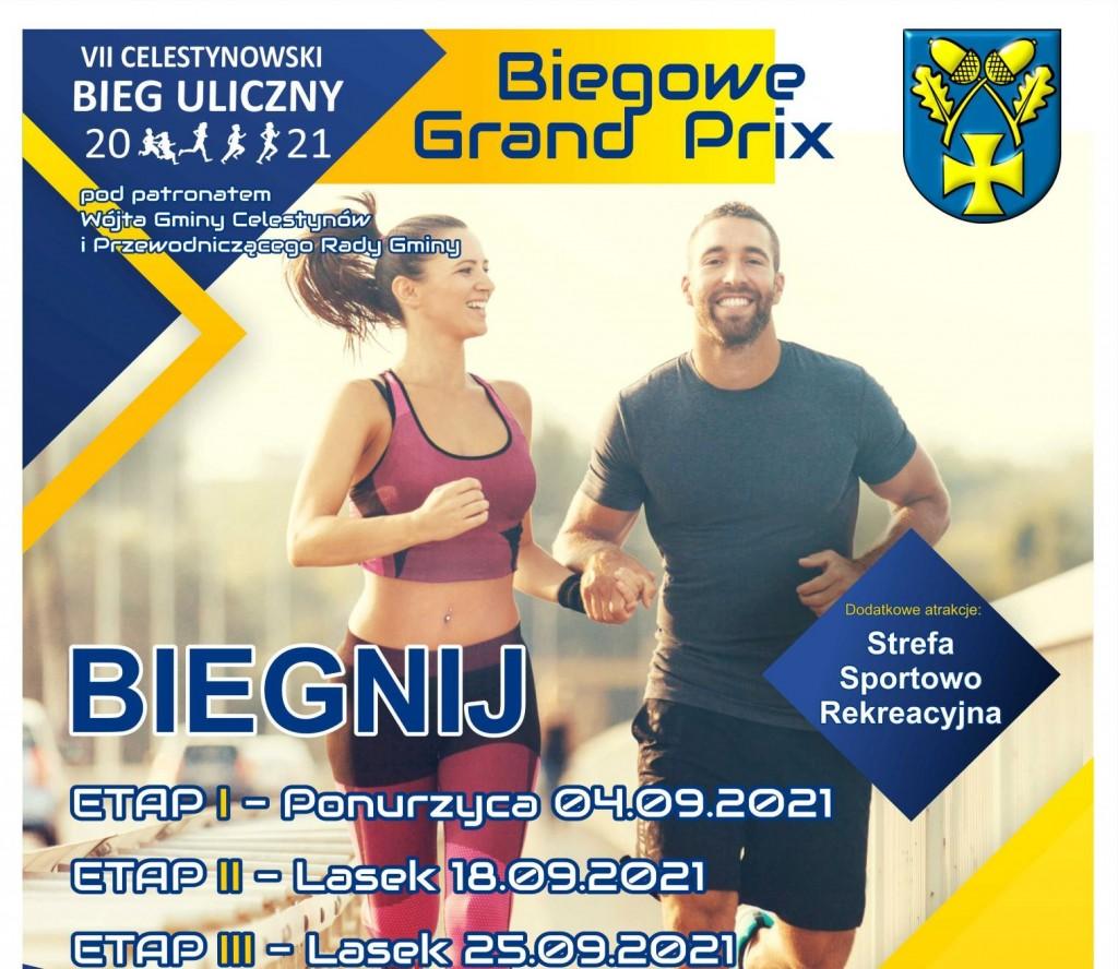 """VII Celestynowski Bieg Uliczny """"Biegowe Grand Prix"""""""