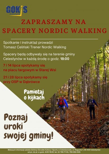 plakat nordic walking Dabrówka Stara Wies-1