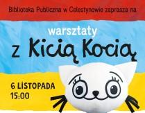 Warsztaty z Kicią Kocią dla dzieci