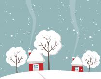 """Konkurs plastyczny """"Zimowy pejzaż świąteczny"""""""